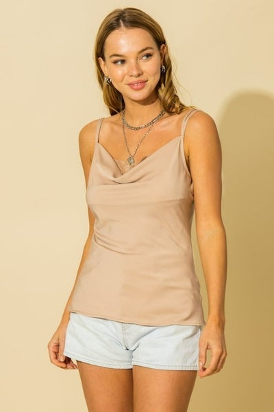 HYFVE - Two Strap Cami With Lace - 3 Colors