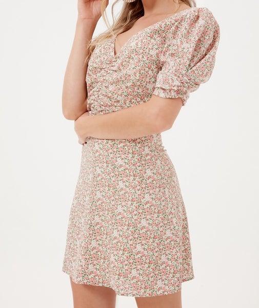 Lush - Mini Floral Dress