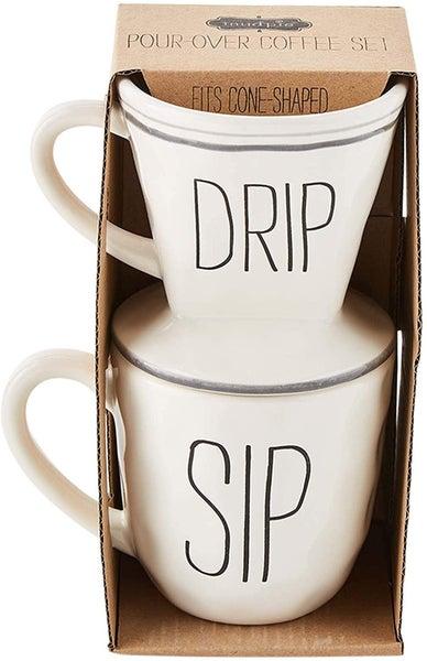 Pour over mug set