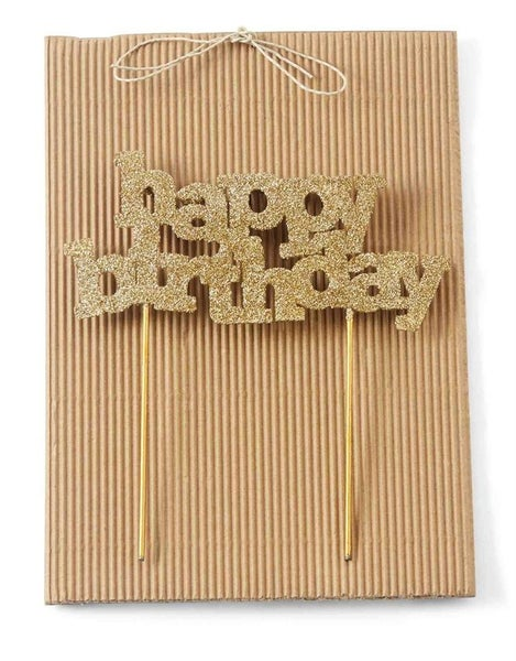 Birthday Candle Holder Cake Topper