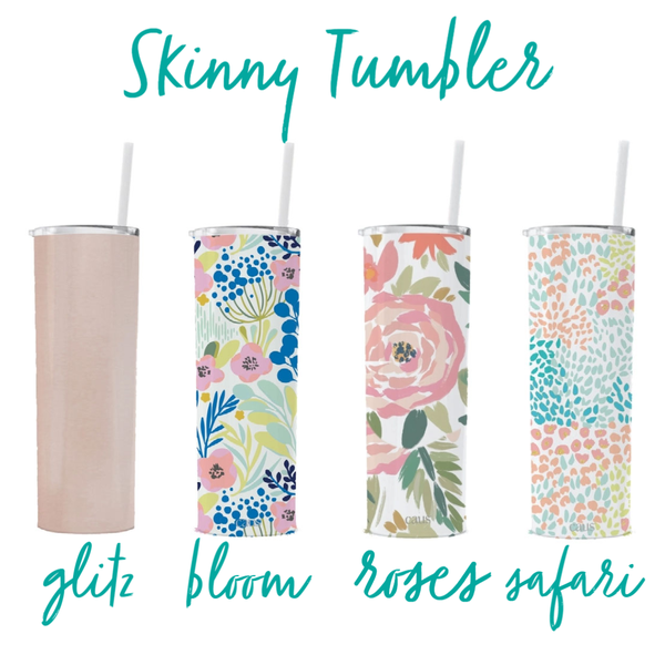 CAUS Skinny Tumbler w/ Straw