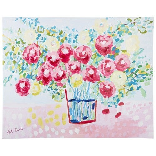 From the Garden Canvas Wall Art