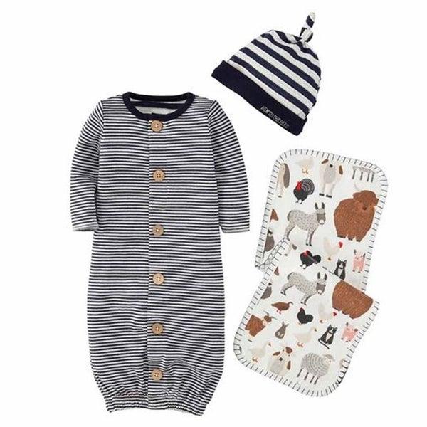 Boy Striped gift set