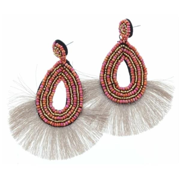 Sunset Tassel Earrings