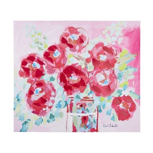 Love to Bloom Canvas Wall Art