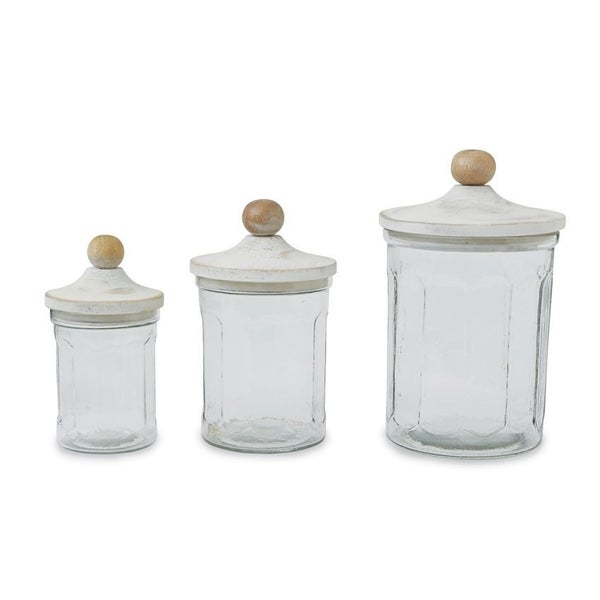 Mudpie Glass Canister Set
