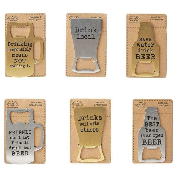 Beer Shaped Bottle Openers