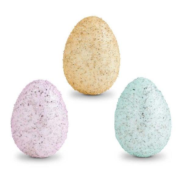 Glass Glitter Eggs