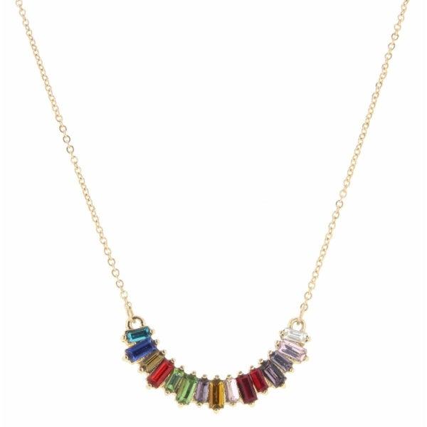 Czech Stone Necklace