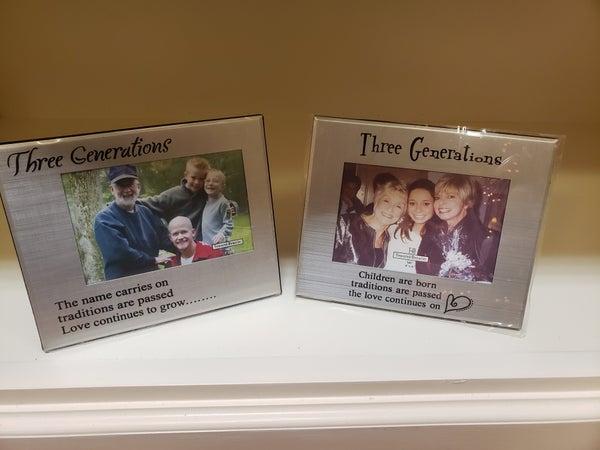 Three Generations Frame