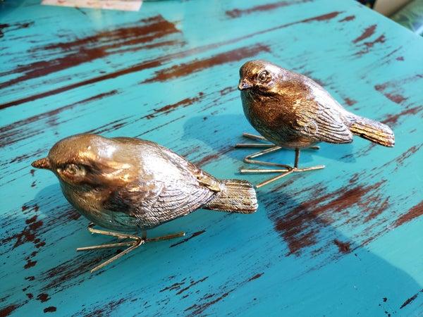 Antique Gold Bird
