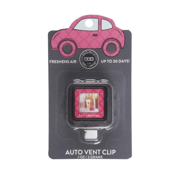 Let's Celebrate Car Clip