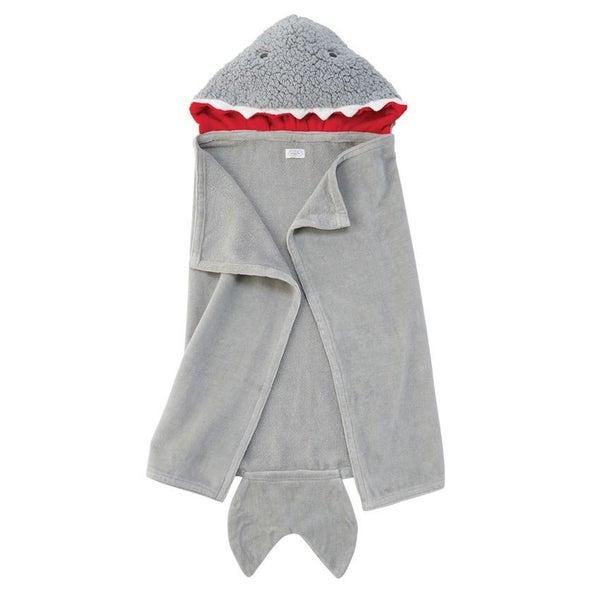 Shark Baby Hooded Towel
