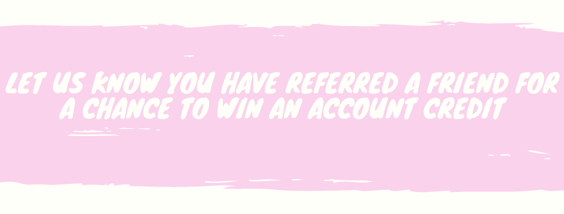 Win Account Credit with Referral