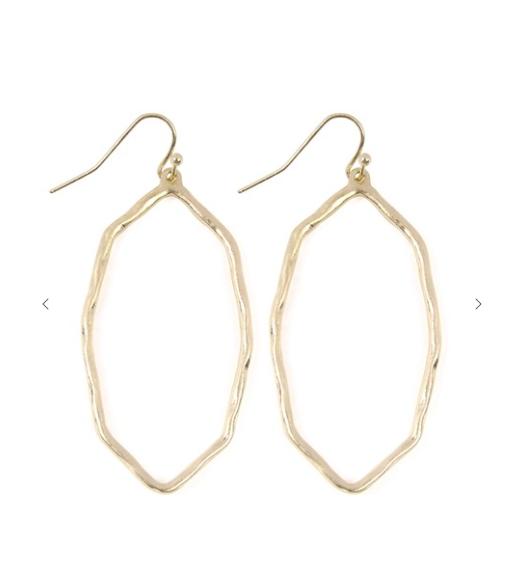 Polygon Dangle Earrings