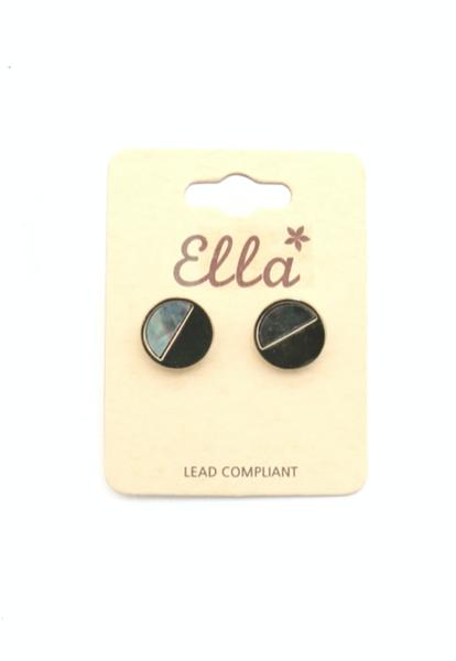 Abalone Stud Earring