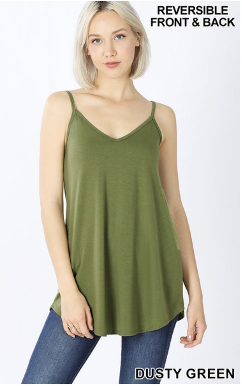 Zenana Reversible Tank Tops