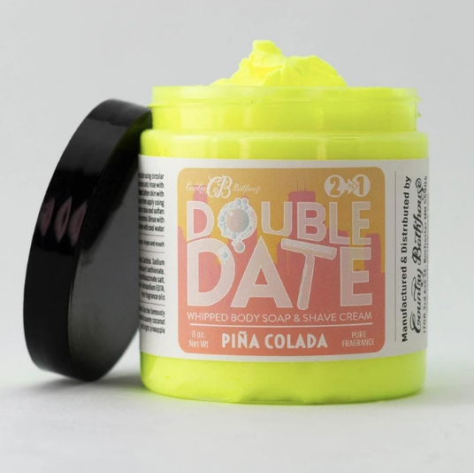 Pina Colada Double Date Whipped Soap and Shave Cream