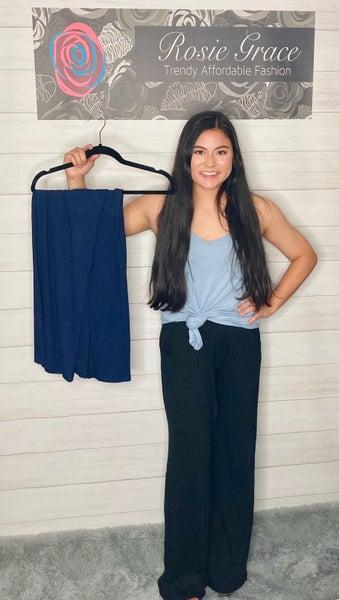 Zenana Long Lounge Pants with Drawstring *Final Sale*