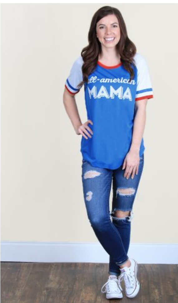 All-American Mama Tee