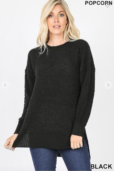 Zenana Popcorn Sweater