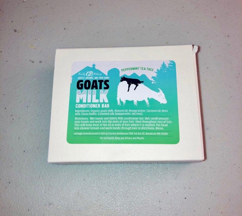 Country Bathhouse Goats Milk Conditioner