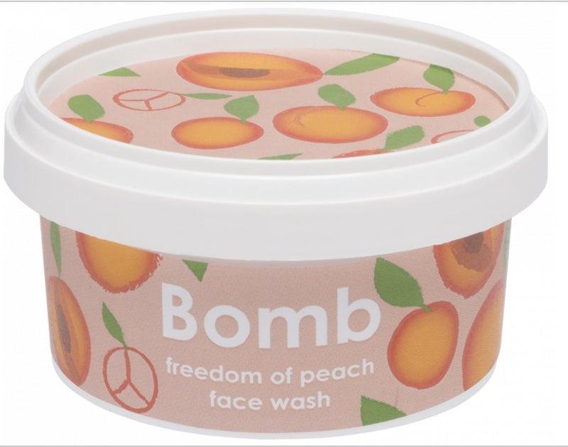 Freedom Peach Face Wash - Bomb Cosmetics