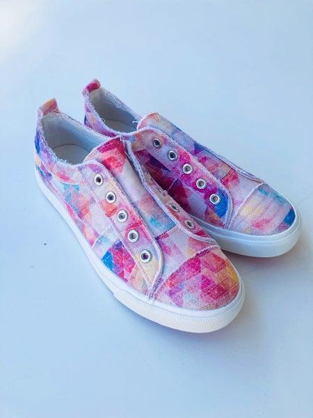 Corkys Tie Dye Babalu Slip-On Sneaker