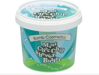Mint ChocoChip Shower Butter - Bomb Cosmetics