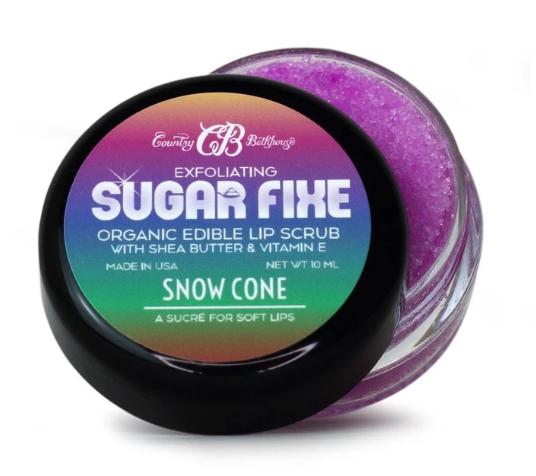 Country Bathhouse - Sugar Fixe Lip Scrub