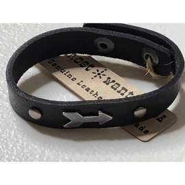 Leather Arrow Bracelets
