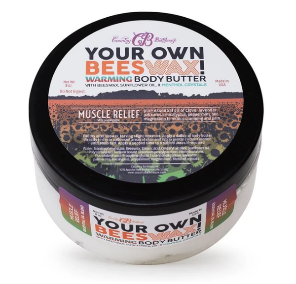 Country Bathhouse Beeswax Warming Body Butter