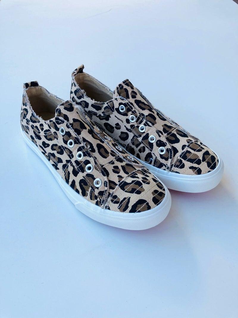 Corkys Leopard Babalu Slip-On Sneaker