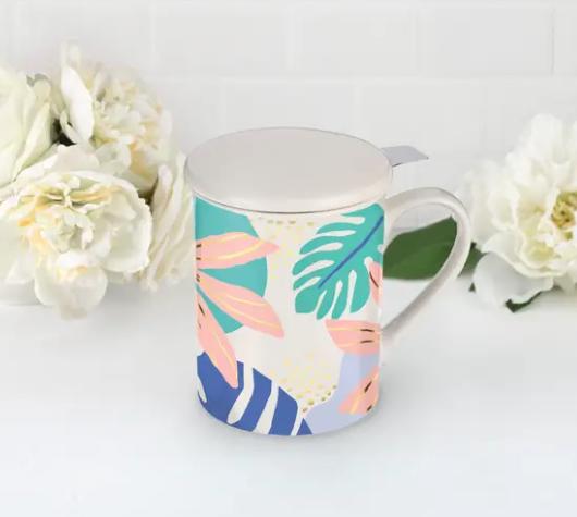 Annette Fiji Ceramic Tea Mug Infuser