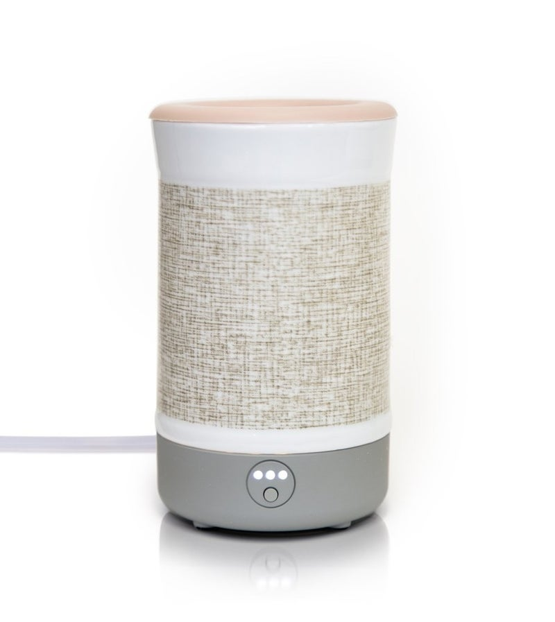 Happy Wax Signature Warmer in Natural Canvas