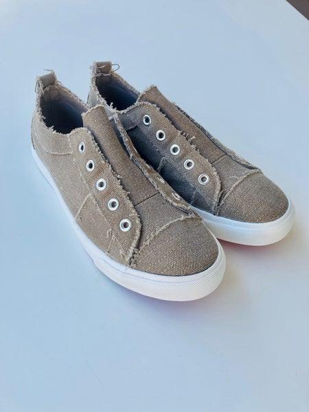 Corkys Taupe Babalu Slip-on Sneaker