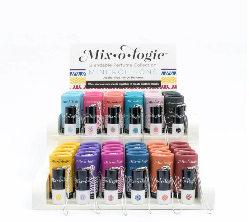 Mixologie Mini Roll-on Keychains