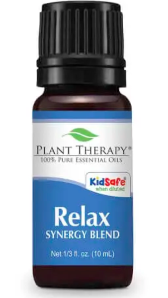 10 ml Relax Synergy Essential Oil
