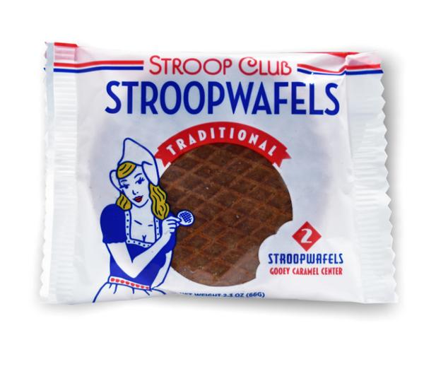 Traditional Caramel Stroopwafels 2Count