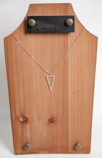 Angles of Your Life Necklace Gold