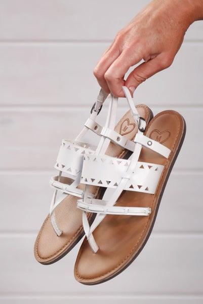 Easy Going Sandals White