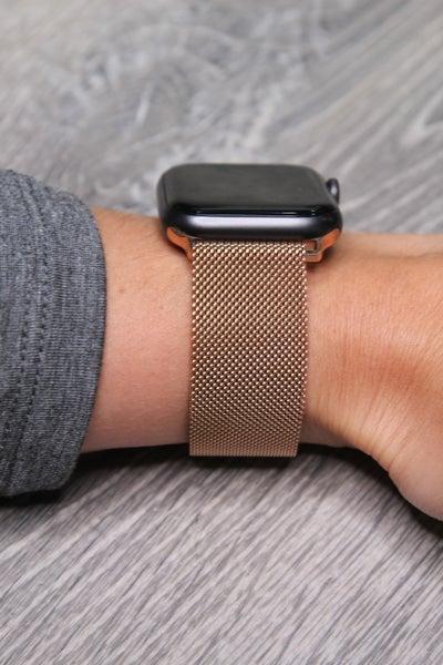 Apple Watch Band Mesh Rose Gold