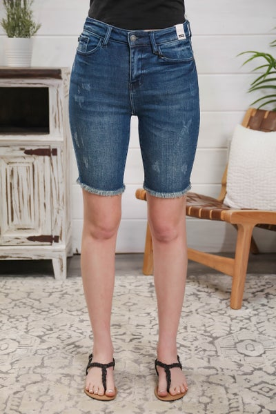 The Long & Short of It High Rise Bermuda Shorts