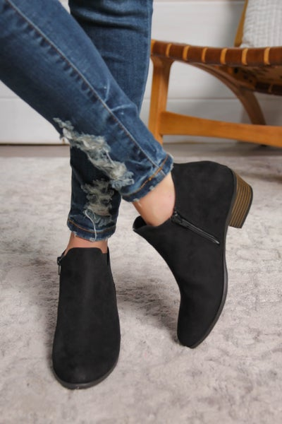 Made For Walking Bootie Black *Final Sale*