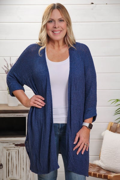 This is Love Cardigan Navy