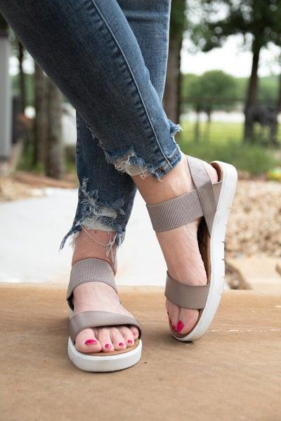 Silver Streak Sandals *Final Sale*