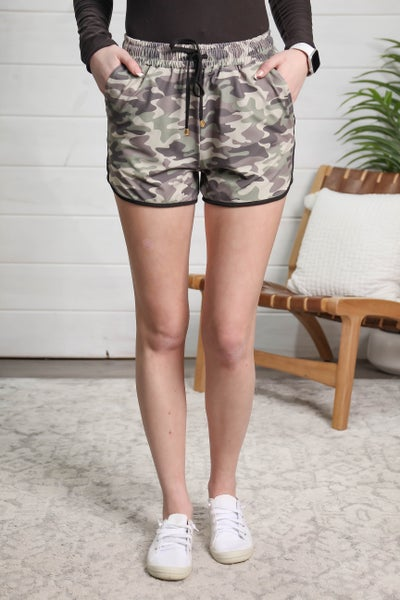 Sporty Girl Shorts Camo