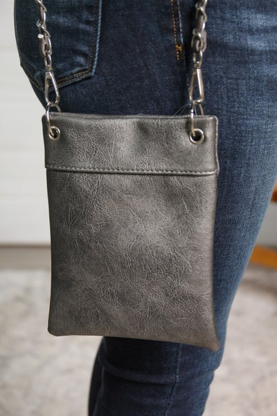 The Chic Bag Pewter *Final Sale*