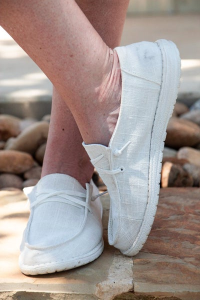 Hey Girl Shoes White