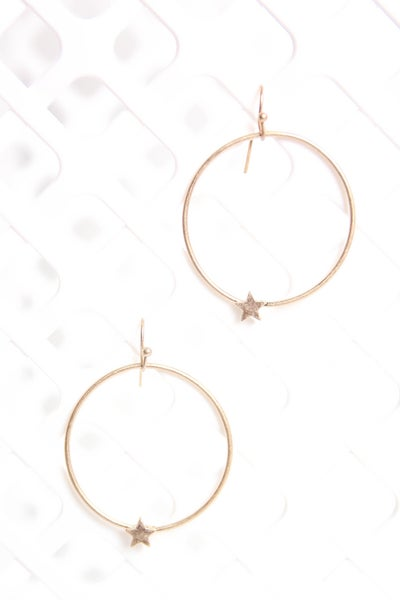 A Simple Shine  Earrings